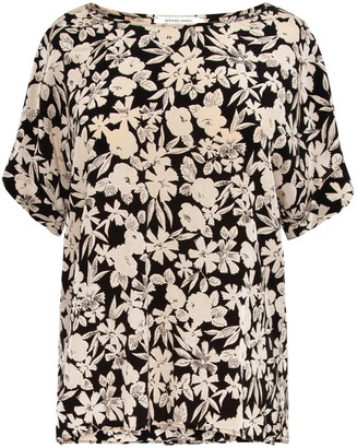 Gerard Darel Netty - Silk Top With Panels In The Back