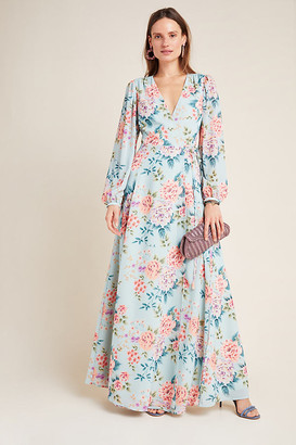 Yumi Kim Juliette Maxi Dress By in Blue Size S