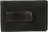 Johnston & Murphy Two Fold Money Clip Bi-fold Wallet