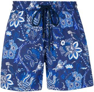 Etro Floral Paisley Swim Shorts