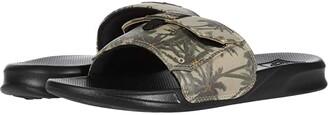 Reef Stash Slide (Black/Tiki) Men's Shoes