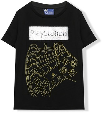 M&Co PlayStation two way sequin t-shirt (5-13yrs)