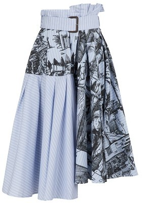 J.W.Anderson Striped skirt
