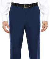 Jf J.Ferrar JF Blue Stretch Suit Pants - Classic Fit