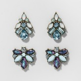 BaubleBar SUGARFIX by Crystal Stud Earring Set of Two - Mint