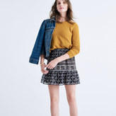 Madewell Artisan Floral Mini Skirt