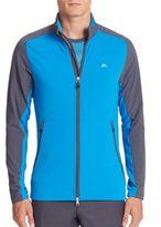 J. Lindeberg Golf Colorblock Long Sleeve Jacket