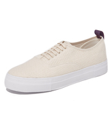 Eytys Mother Woven Cotton Sneakers