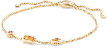 David Yurman Novella 18k Chain Bracelet, Yellow
