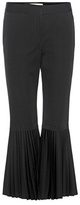 Stella McCartney Cropped Wool Trousers