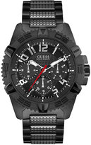 GUESS Men's Black Stainless Steel Bracelet Watch 46mm U0800G2