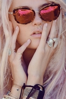 Wildfox Couture Sunwear Chaton Deluxe Sunglasses in Tokyo Tortoise