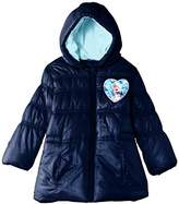 Disney Girls' Frozen Padded Raincoat