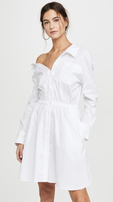 By Any Other Name Falling Off Shoulder Mini Dress