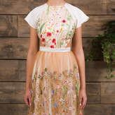 E&W Couture Wren Boho Floral Wedding Gown