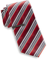 Gold Series Stripe Tie with Tie Bar Casual Male XL Big & Tall