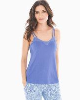 Soma Intimates Lace Swing Pajama Cami Baja Blue