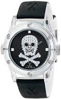 Toy Watch Unisex TW10NA Analog Display Quartz Black Watch