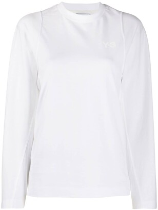 Y-3 double layered long sleeved T-shirt