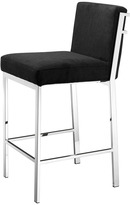 Eichholtz Scott Barstool Black - Stainless Steel