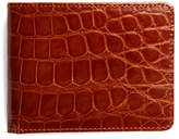 Brooks Brothers Slim Alligator Wallet