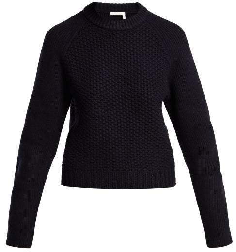 28b897d550b1 Chunky Wool Sweater - ShopStyle