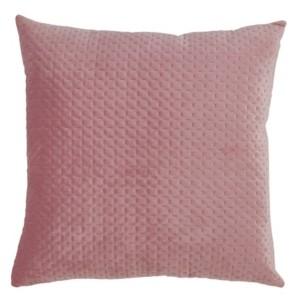 """Saro Lifestyle Pinsonic Velvet Throw Pillow, 18"""" x 18"""""""