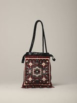 Etro Shoulder Bag Shoulder Bag With Beads And Fringes