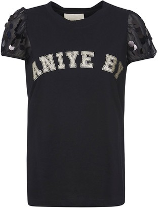 Aniye By Glittery Logo Top