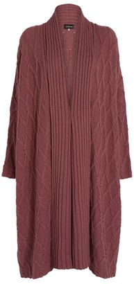 eskandar Argyle-Knit Cardigan