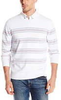 French Connection Men's Summer Stripe Auderly Sweater
