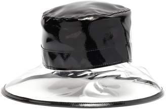Eric Javits 'Gogo' vinyl brim patent bucket hat
