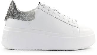Ash Moby White Silver Sneaker
