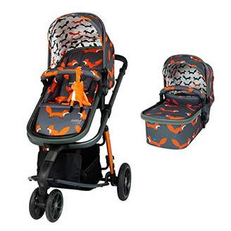 Cosatto Giggle 3 Pram & Pushchair Charcoal Mister Fox