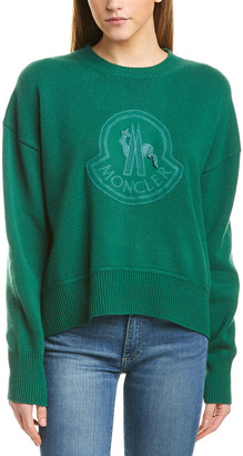Moncler Oversized Wool & Cashmere-Blend Sweater