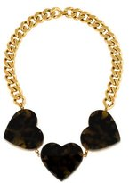 Stella McCartney Tortoise Heart Collar Necklace