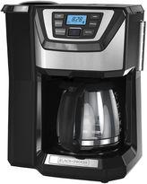 Black & Decker Black+Decker CM5000B Mill & Brew Coffeemaker withIntegrated Whole Bean Grinder