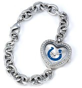 Game Time NFL Women's NFL-HEA-IND Heart Collection Indianapolis Colts Watch