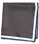 Gucci Men's Silk Pocket Square