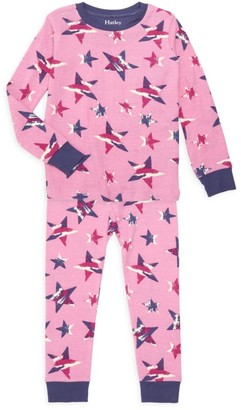 Hatley Little Girl's & Girl's Twinkle Stars 2-Piece Pajama Set