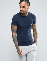 Emporio Armani Logo Crew Neck T-shirt In Muscle Fit