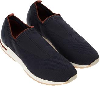 Loro Piana Men's 360 LP Flexy Walk Active Wish Knit Sneakers