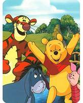 """Winnie The Pooh Winnie the Pooh, Hunny Dayz Silk Touch 40""""x50"""" Toddler Blanket with Sherpa Fleece Lining"""