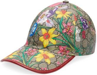 Gucci GG Flora baseball hat