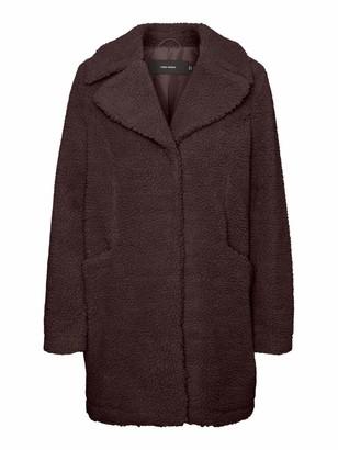 Vero Moda Women's VMDONNA Teddy 3/4 Jacket BOOS GA Coat