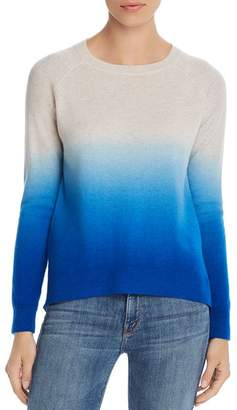 Aqua Dip-Dye Cashmere Sweater - 100% Exclusive