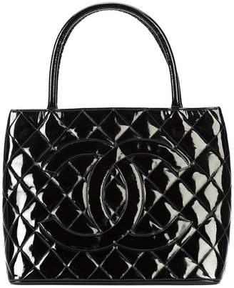 Chanel Pre-Owned CC quilted tote bag