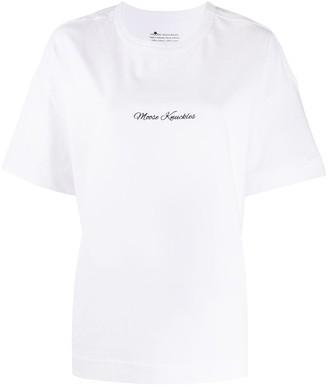 Moose Knuckles contrast logo T-shirt
