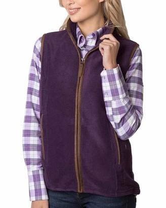 Rydale Ladies Huggate Fleece Waistcoat Olive