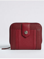 M&S Collection Leather Stud Purse with CardsafeTM